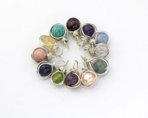 Birthstone Pendant Jewelry