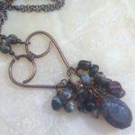 Copper Heart Love Pendant